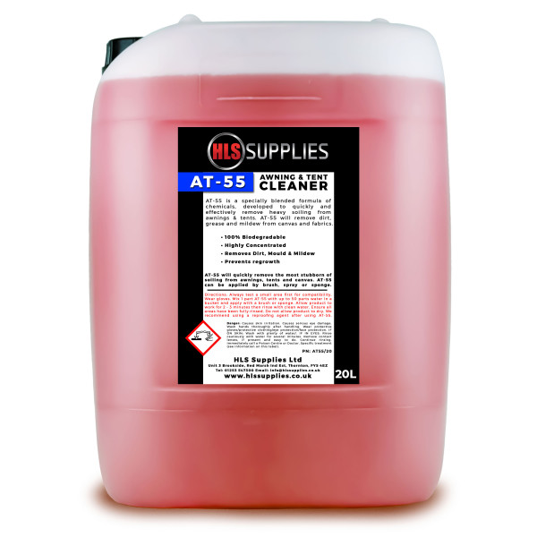 HLS AT-55  - Awning & Tent Cleaner 2...