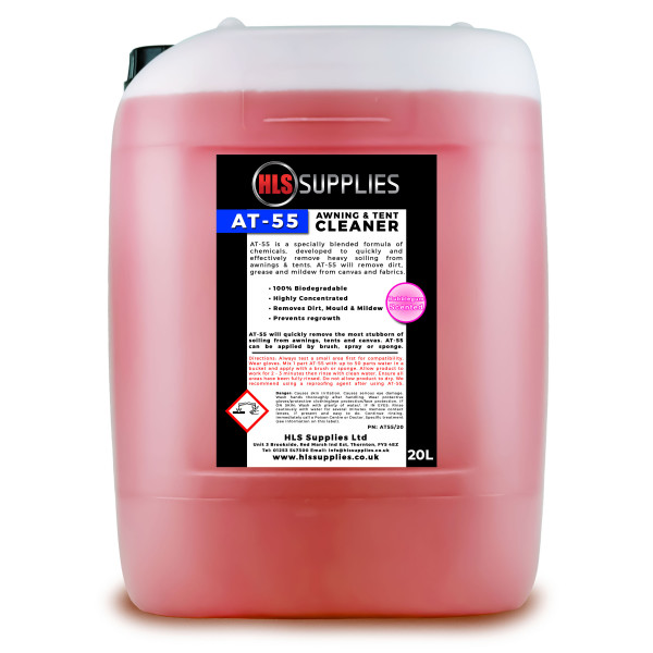 HLS AT-55  - Awning & Tent Cleaner B...