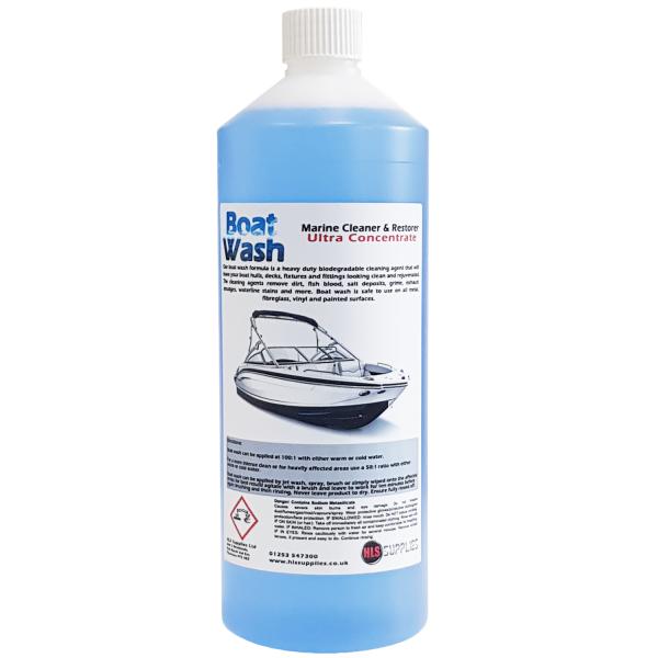 HLS Boat Wash - Marine Cleaner & Restorer 1L