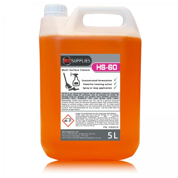 HLS HS-60 - Multi Surface Cleaner 5L