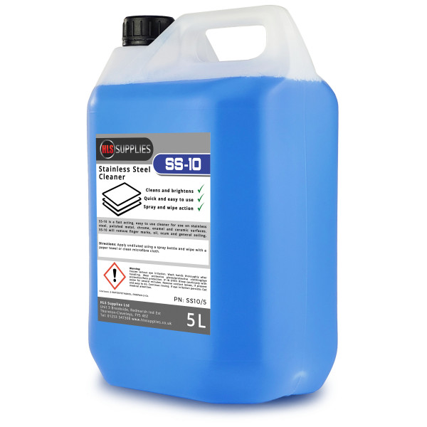 HLS SS-10 - Stainless Steel Cleaner 5L