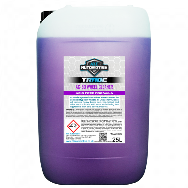 25L AC-50 Alloy Cleaner - Acid Free Wheel Cleaner