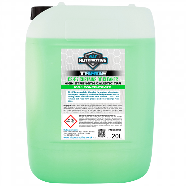 20L CS-87 - Curtainside Cleaner