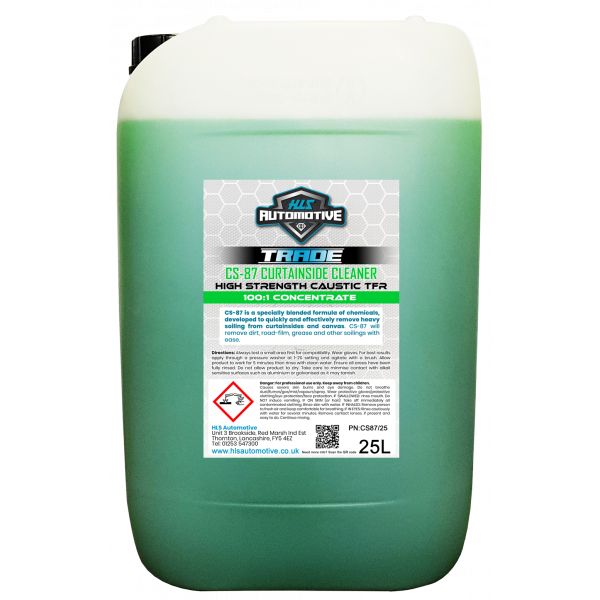 25L CS-87 - Curtainside Cleaner