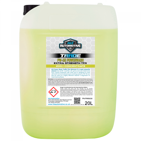 20L PW-50 Power Wash - High Power TFR