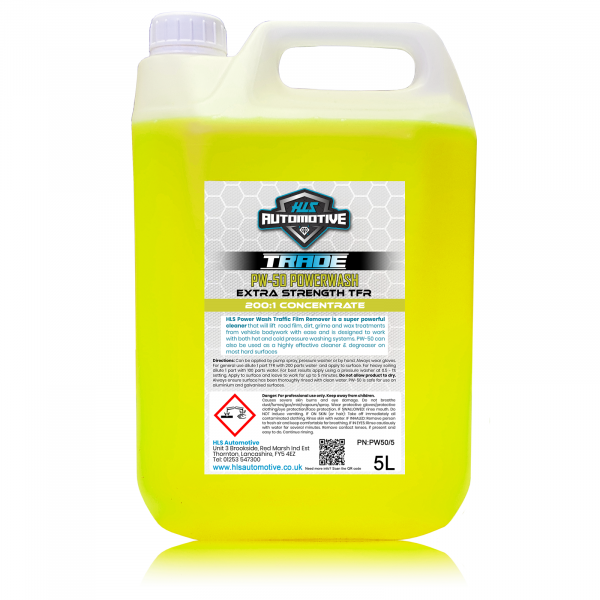 5L PW-50 Power Wash - High Strength TFR