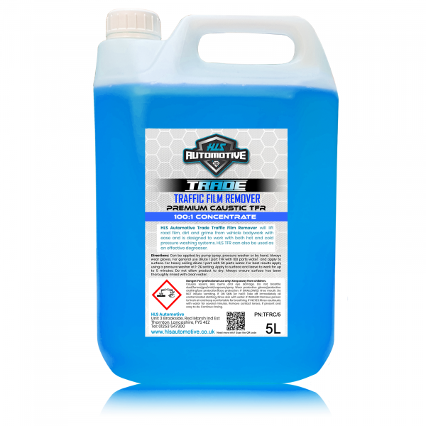 5L TFR - Traffic Film Remover (Caustic)