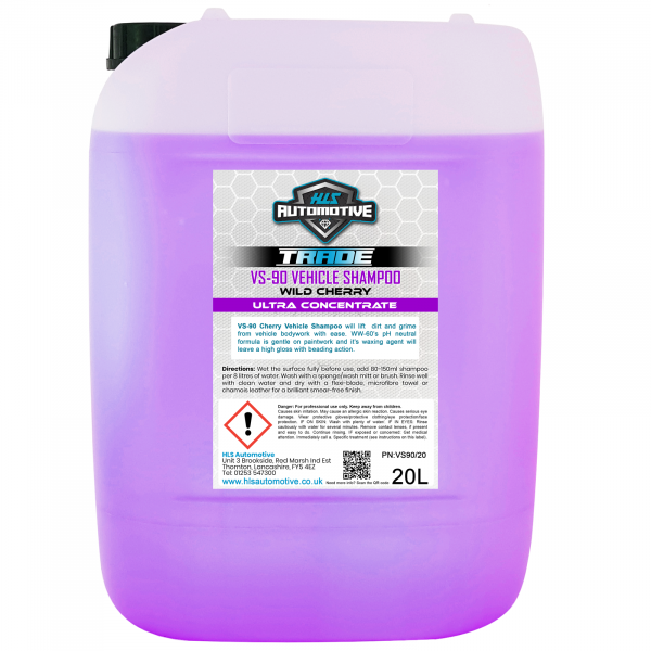 20L VS-90 Vehicle Shampoo