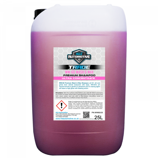 25L WW-60 Wash & Wax - Premium Car S...
