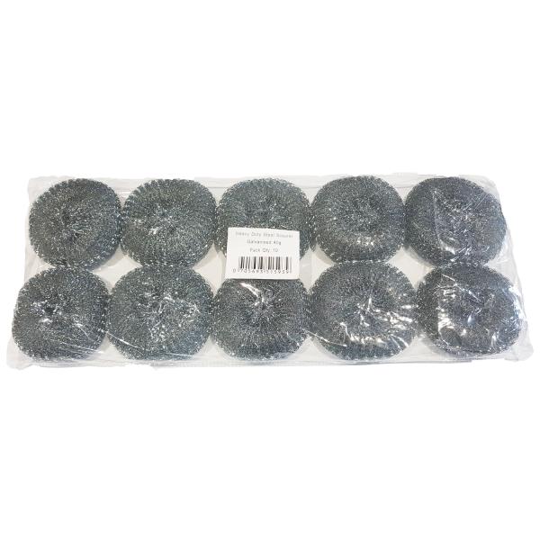 Steel Scourers Galvanised 40g (Pack of 1...