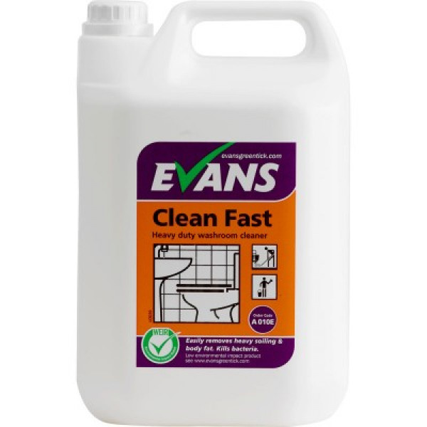 Evans Clean Fast - Heavy Duty Washroom Cleaner