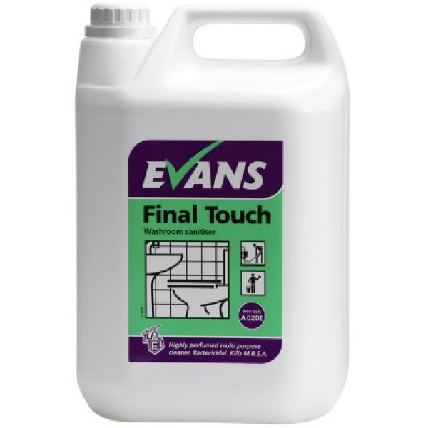 Evans Final Touch - Washroom Sanitiser