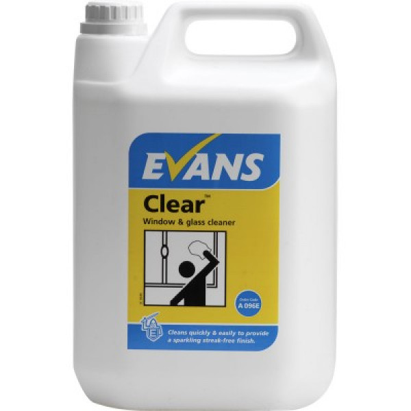 Evans Clear - Window, Glass and Stainless Steel Cleaner