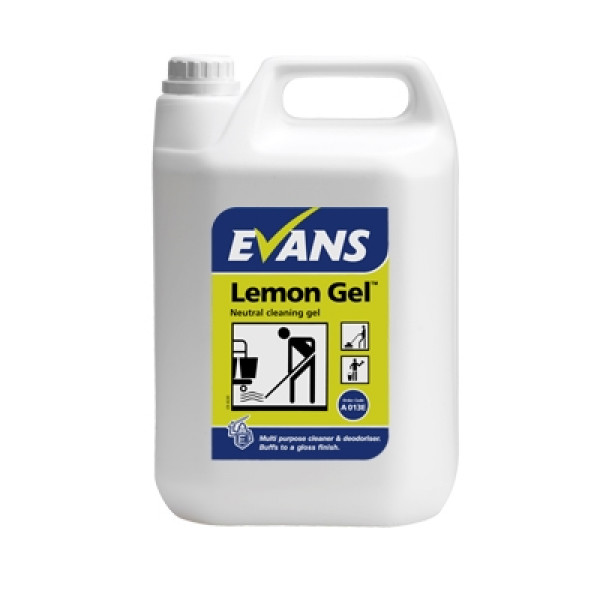 Evans Lemon Gel - Neutral Cleaning Gel