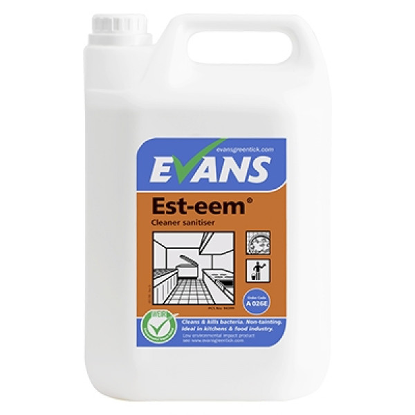 Evans Est-eem - Unperfumed Cleaner Sanit...