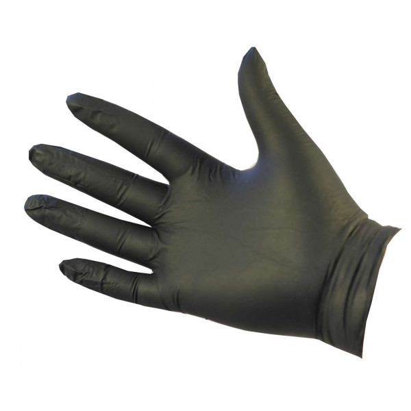 Ultraflex Black Nitrile Gloves (Powder F...