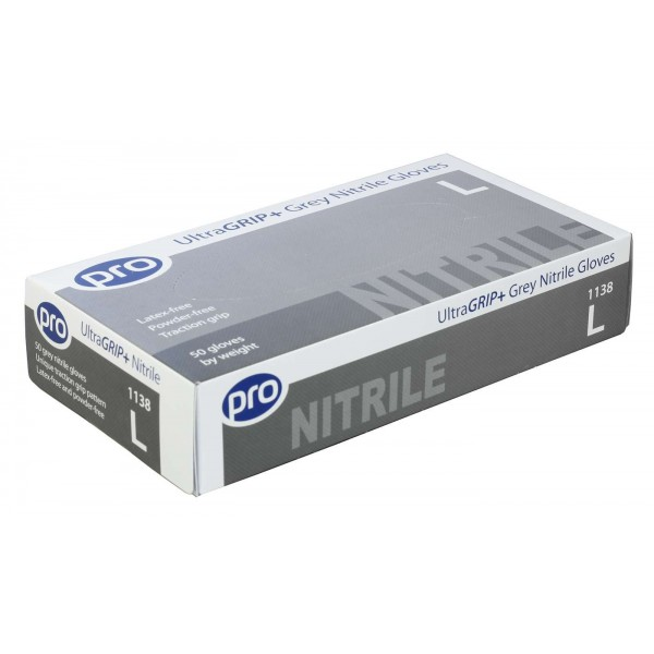 Ultragrip Plus Nitrile Gloves (Powder Free) - Box of 50