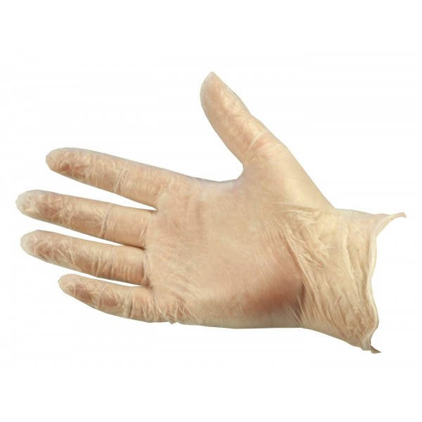 Clear Vinyl Gloves Medium (Powdered) - B...