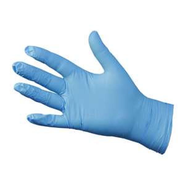 Blue Nitrile Gloves Large (Powder Free) ...