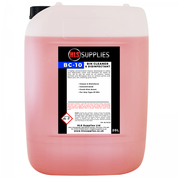 HLS BC-10 - Bin Cleaner & Disinfecta...