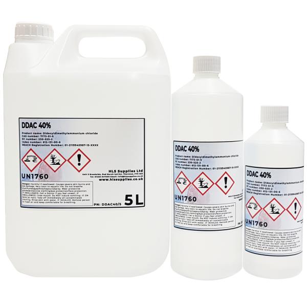 DDAC 40%  Didecyldimethylammonium chlori...