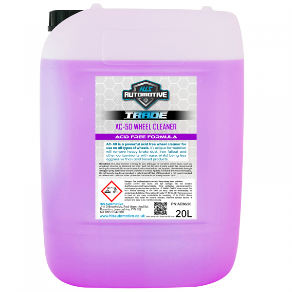 20L AC-50 Alloy Cleaner - Acid Free Whee...