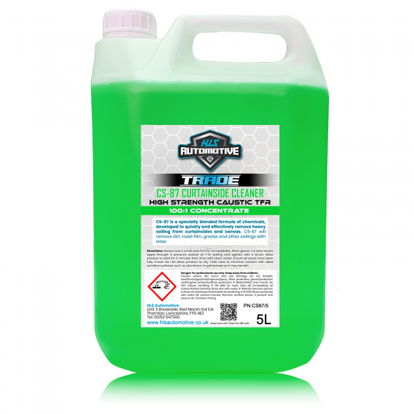 5L CS-87 - Curtainside Cleaner