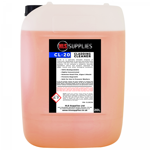 HLS CL-20 - Cladding Cleaner 20L