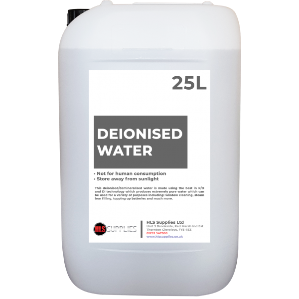 25L Deionised Water DI-05