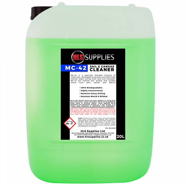 HLS MC-42 - Sail & Canvas Cleaner 20...