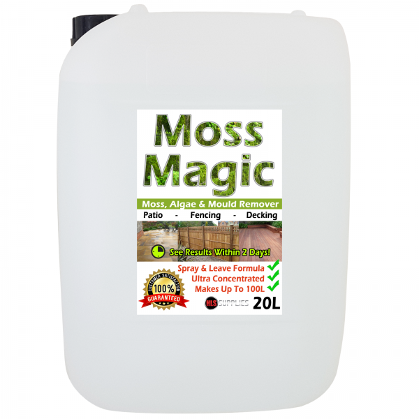 20L Moss Magic - Moss, Algae & Mould...