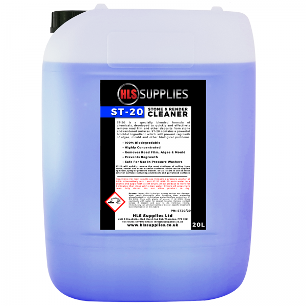 HLS ST-20 - Stone & Render Cleaner 2...