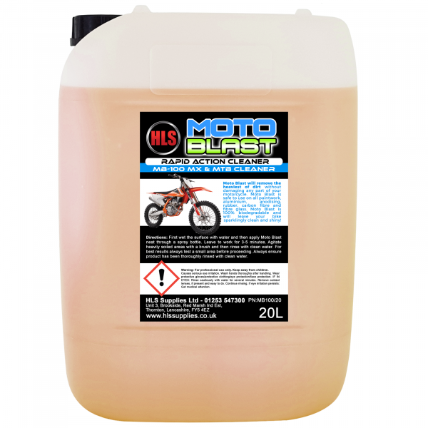 HLS Moto-Blast Motocross MTB Cleaner 20L