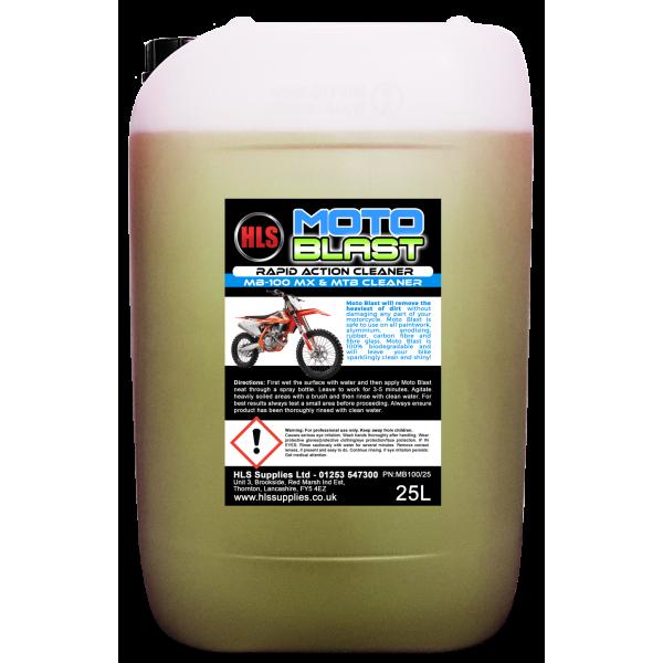 HLS Moto-Blast Motocross MTB Cleaner 25L