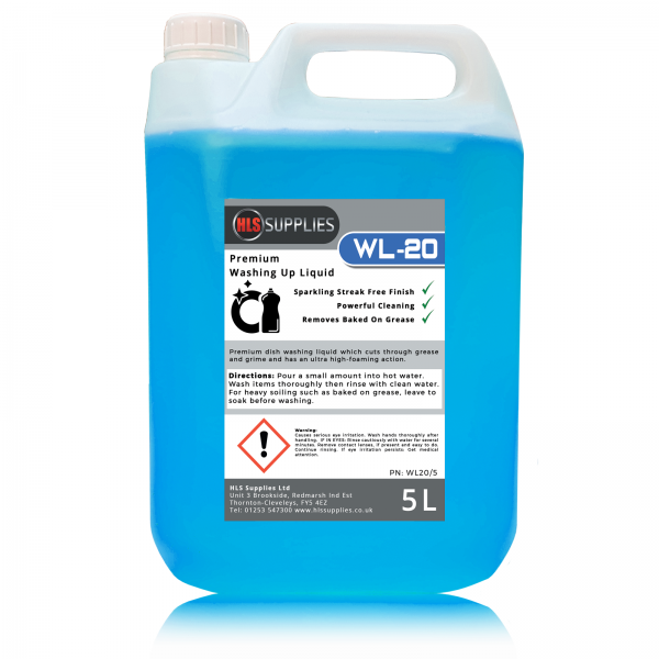 5L WL-20 - Premium Washing Up Liquid