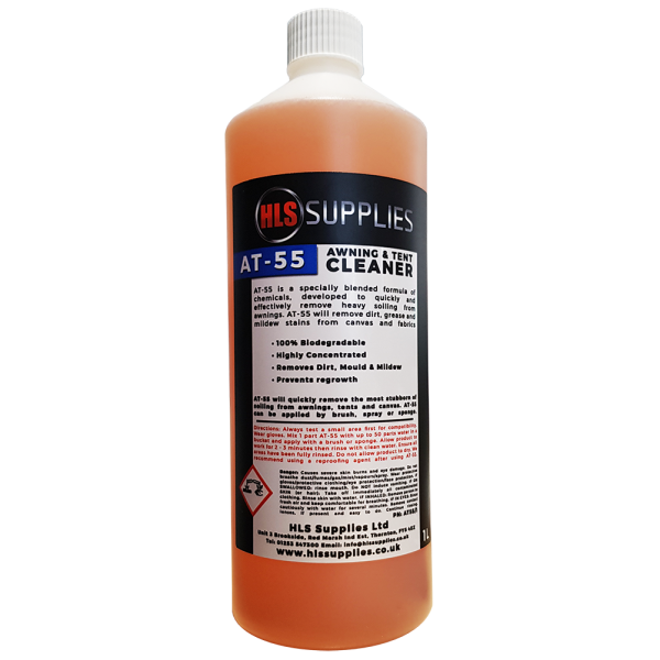 HLS AT-55  - Awning & Tent Cleaner 1L