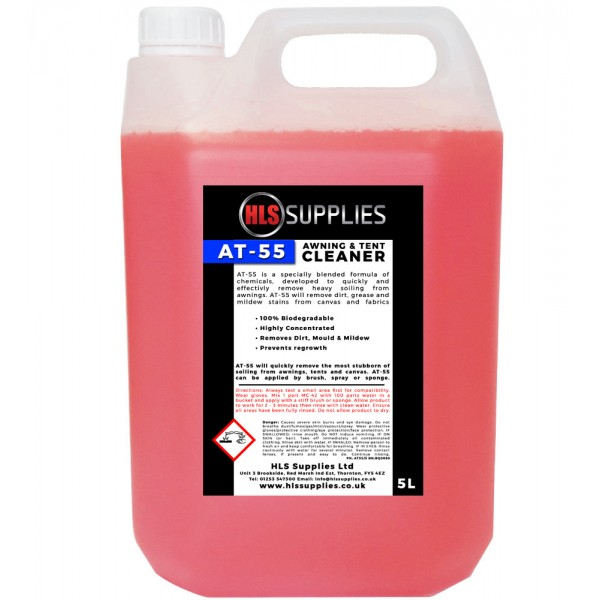 HLS AT-55  - Awning & Tent Cleaner 5...