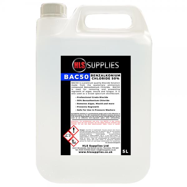 HLS BAC50 - Benzalkonium Chloride 5L