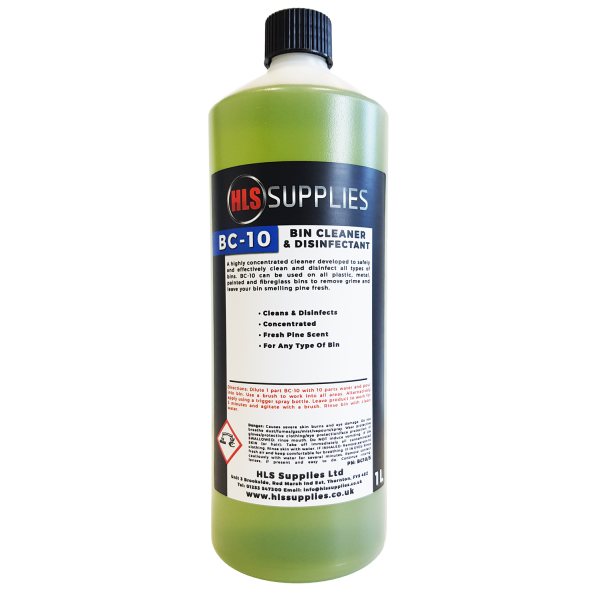 HLS BC-10 - Bin Cleaner 1L