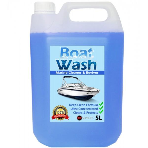 HLS Boat Wash - Marine Cleaner & Restorer 5L