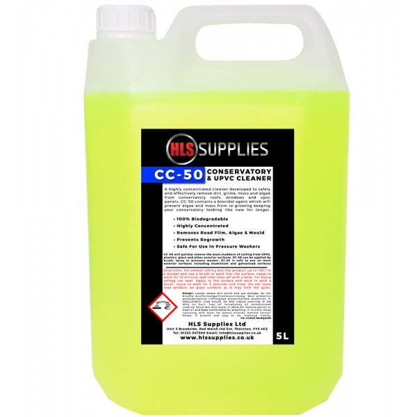 HLS CC-50 - Conservatory & UPVC Cleaner & Protector 5L