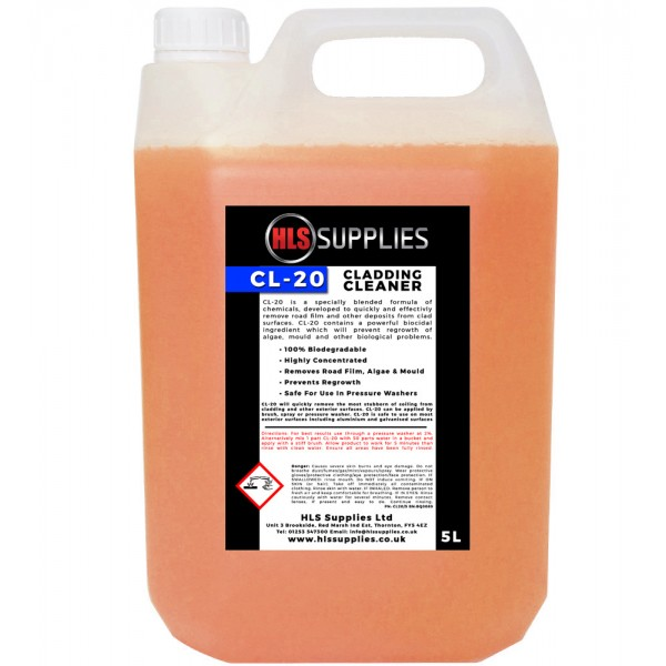 HLS CL-20 - Cladding Cleaner 5L