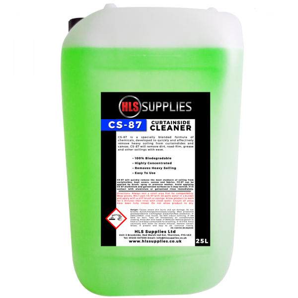 HLS CS-87 - Curtainside Cleaner 25L