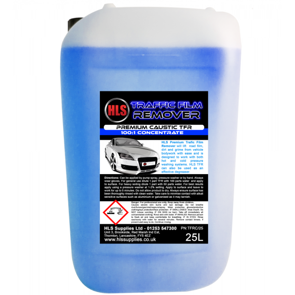 HLS TFR - Traffic Film Remover Caustic 25L