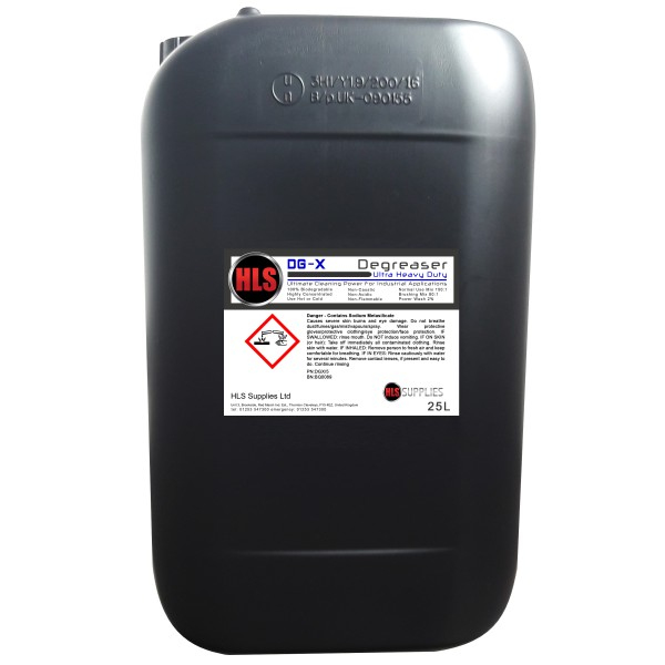 HLS DG-X - Ultra Heavy Duty Degreaser 25...