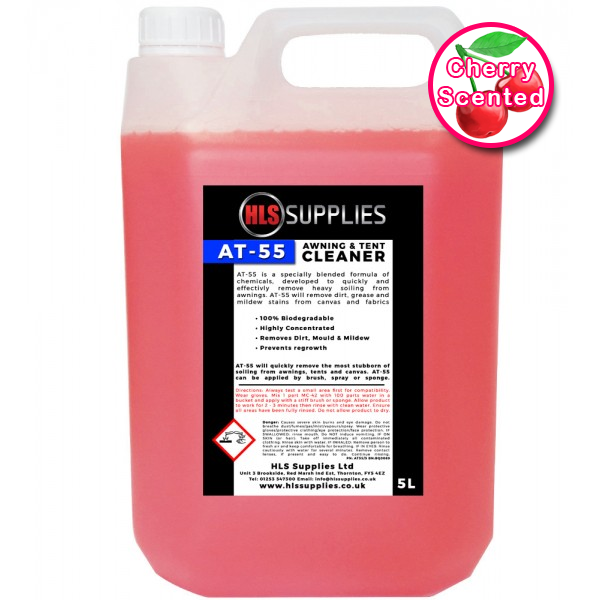 HLS AT-55  - Awning & Tent Cleaner C...