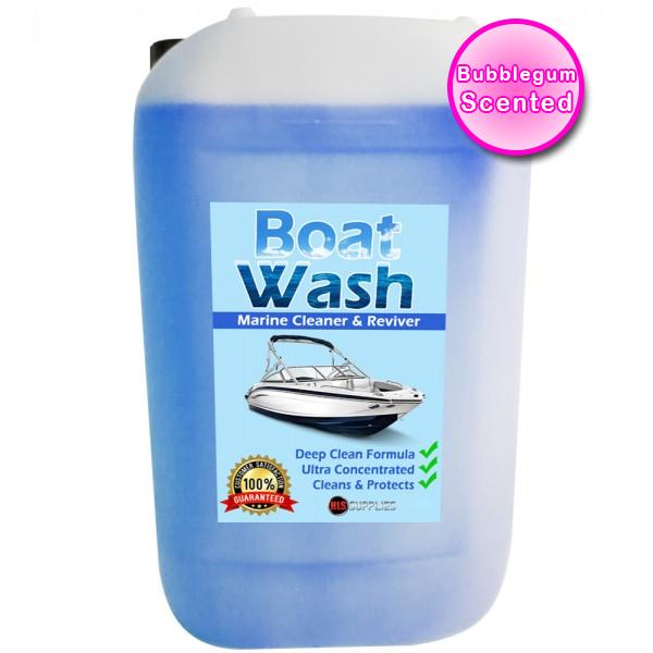 HLS Boat Wash - Bubble Gum Scented Marine Cleaner & Restorer 25L