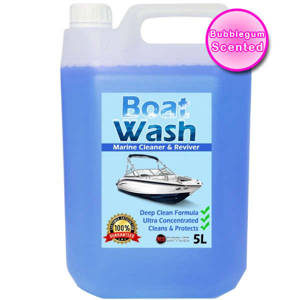 HLS Boat Wash - Bubble Gum Scented Marine Cleaner & Restorer 5L