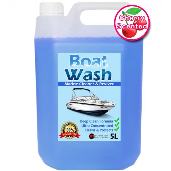 HLS Boat Wash - Cherry Scented Marine Cleaner & Restorer 5L