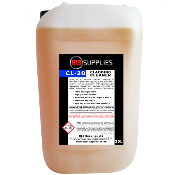 HLS CL-20 - Cladding Cleaner 25L
